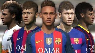 Neymar from FIFA 10 to 17 thumbnail