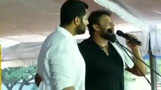 D boss Darshan about Amar kannada movie