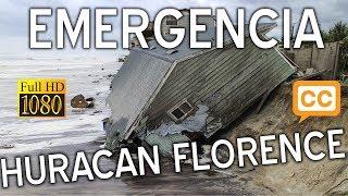 El huracan Florence Y el huracan Isaac  crean emergencia mas de un millon de evacuados