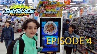 Beyblade Burst ベイブレードバースト Adventure by Zankye -Japan Trip 2016 Episode 4