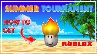 HOW TO GET MARSHMALLOW HEAD ROBLOX 2018 SUMMER TOURNAMENT!