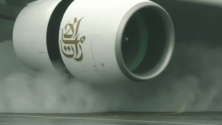 Reverse thrust - up close and personal