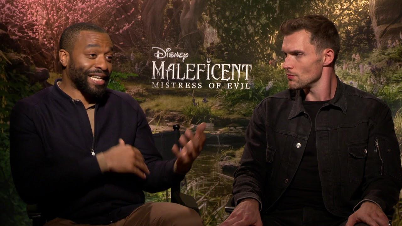 Maleficent Mistress Of Evil Chiwetel Ejiofor Ed Skrein Generic Interviews Socialnews Xy