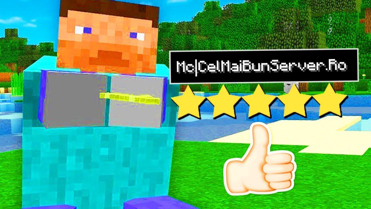 Cel Mai Bun Server De Minecraft Din Romania? YouTube