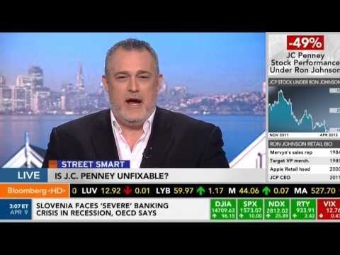 Street Smart on Bloomberg - JCPenney