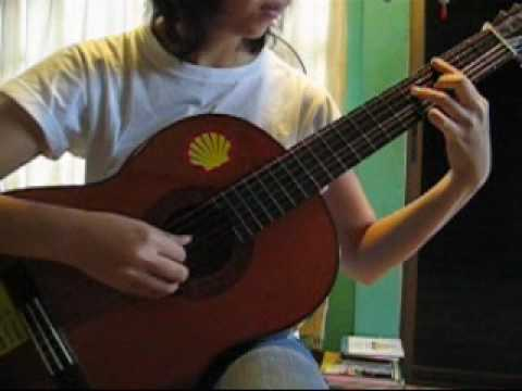 how to play que sera sera on guitar