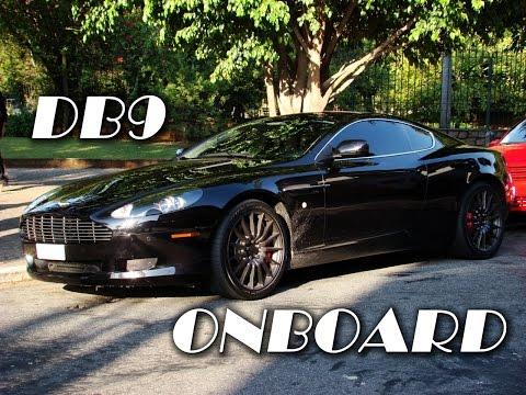 Vintage - Onboard Aston Martin DB9