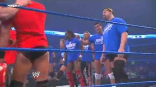 Big Show, Rey Mysterio & Kofi Kingston vs. The Miz, Sheamus & Ezekiel Jackson