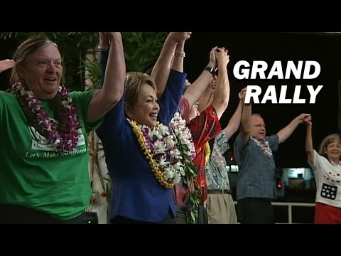 Democratic Grand Rally In Hilo A First For David Ige