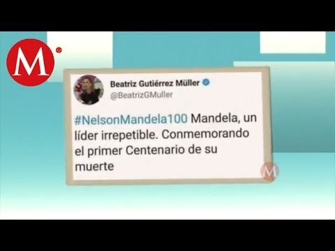 Error de Beatriz Guitérrez Müller en Twitter /Momentos