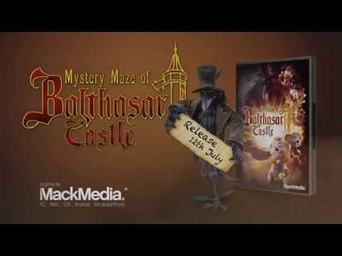 Mystery Maze of Balthasar Castle - Official Game Trailer (Release 12.07.2015)