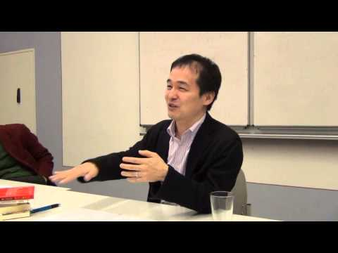 "Prof. Kono Shion - ""The 'Outside' of Reflexivity and Media in Contemporary Japanese Criticism"""