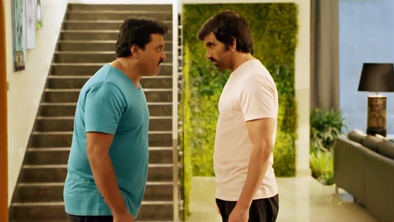 Amar Akbhar Anthony (Amar Akbar Anthony) Hindi Dubbed Best Comedy Scene   Ravi Teja, Sunil