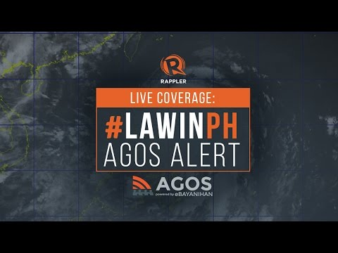 LIVE COVERAGE: Super Typhoon Lawin