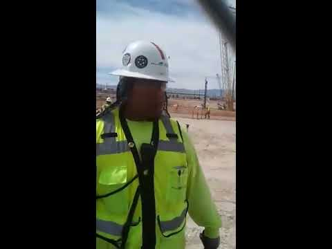 RAIDER ReACTION - On Location w/ Ariel Zuniga @ Vegas Stadium Site Video #1 (Aired 3/29/18)