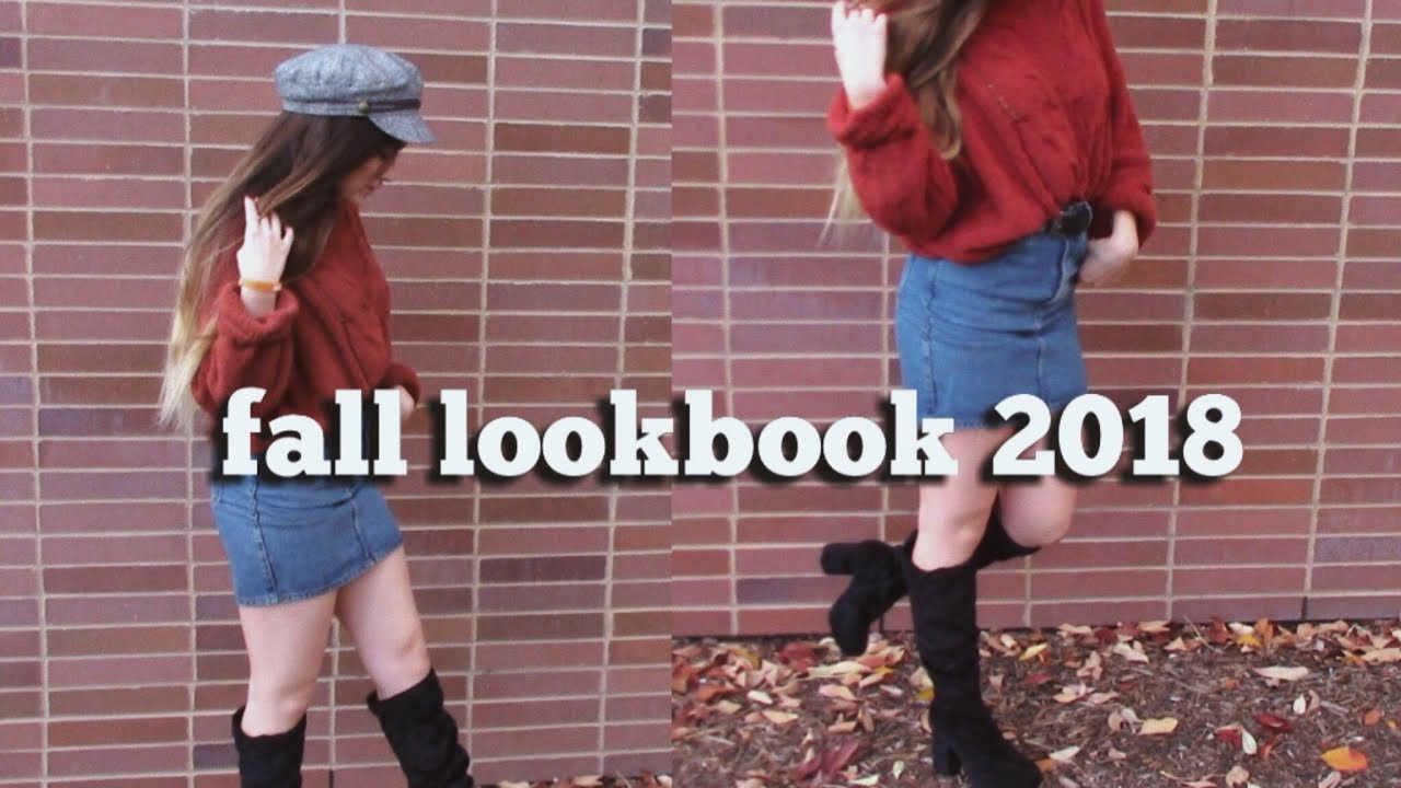How to Dress Like a Five Course Thanksgiving Meal || Fall Lookbook 2018
