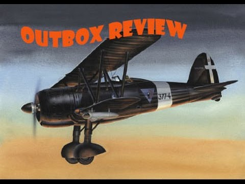 "OUTBOX REVIEW "" Classic Airframes 1/48 FIAT CR 42"