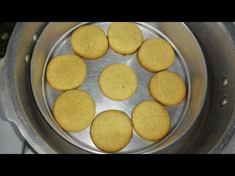 Whole Wheat flour Biscuits  Without Oven  || Atta Biscuits without Oven