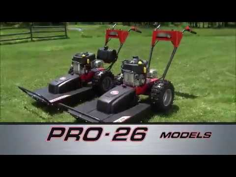 Field And Brush Mower PRO-26 Models