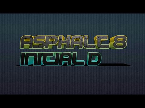 Asphalt 8: Airborne-Initial D Compilation