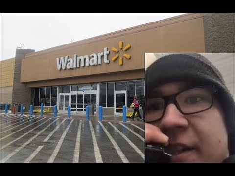 Bodhi - Ticked Off Walmart Employee Quits Over Intercom (Video)