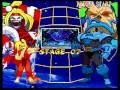 Marvel Super Heroes VS. Street Fighter (Sega Saturn) Arcade as Omega Red & Ken