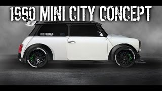 B is for Build - 1990 Mini City Concept