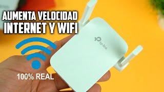 Aumenta la Velocidad y señal del Wifi de manera 100% REAL con TP LINK ac1200