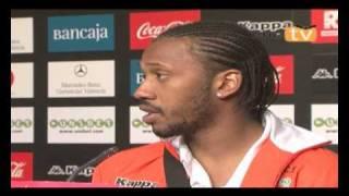 21.03.2010 Manuel Fernandes post partido Valencia CF 2 Almeria 0.
