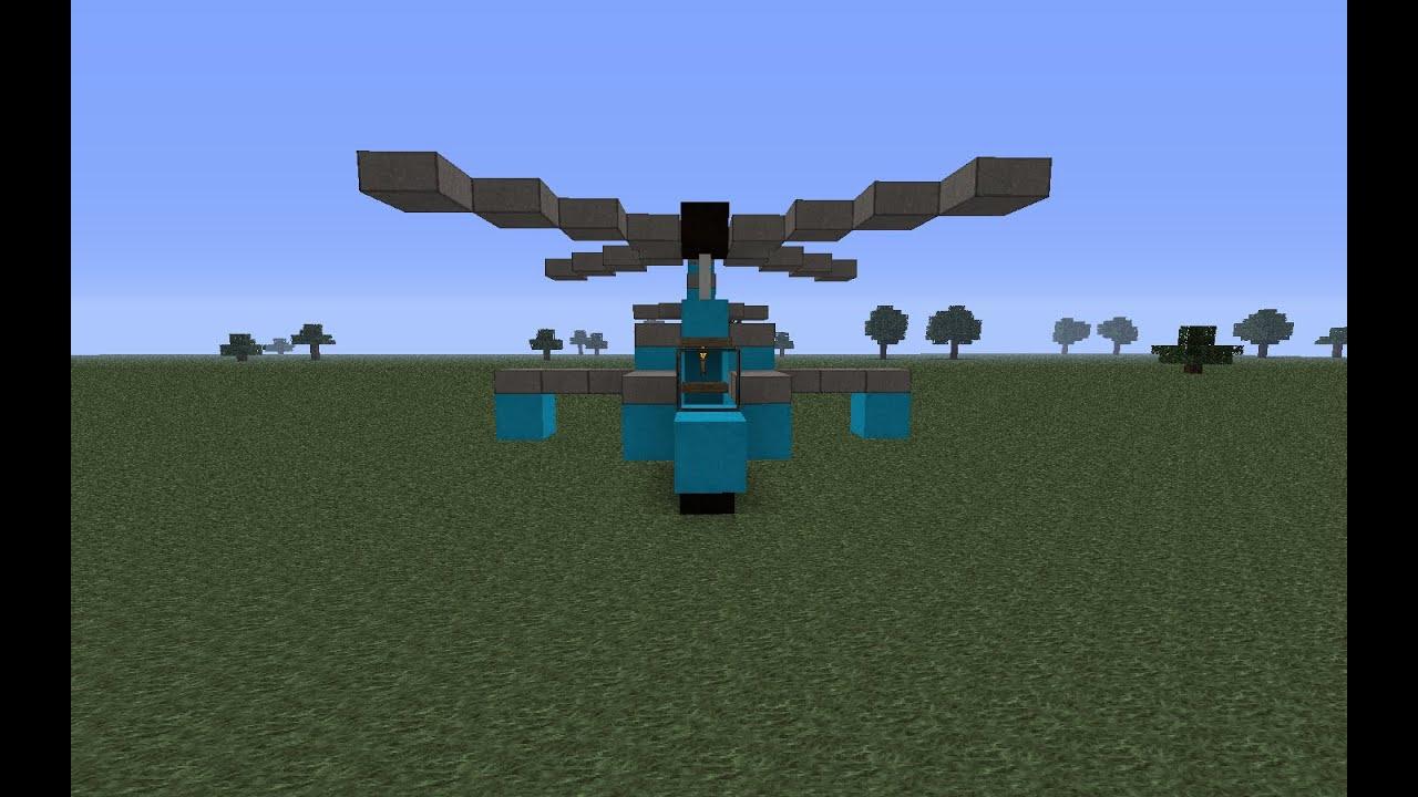 делать вертолет в майнкрафте картинки динамический код