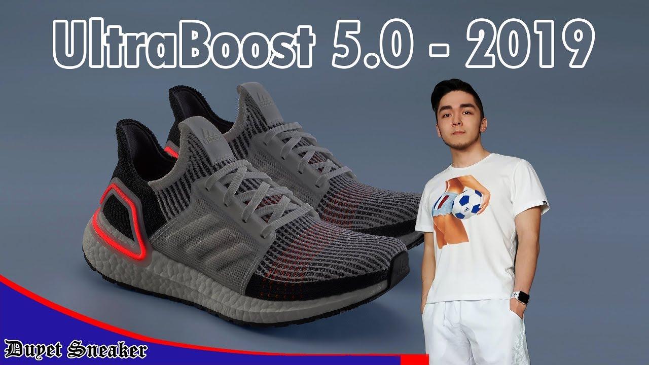 Review UltraBoost 2019 – 4 cải tiến đột phá – Bản 5.0 (cấp) cao nhất | Vlog 75 – Duyet Sneaker