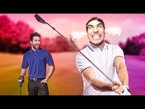 I HAVE NEVER WATCHED SOMEONE GOLF SO HORRIBLY