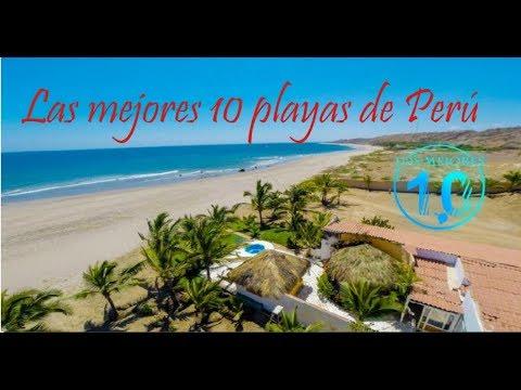 Las 10 Mejores Playas De Peru Youtube