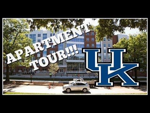 University of Kentucky UNIVERSITY FLATS Tour!!! // EllainaLisa