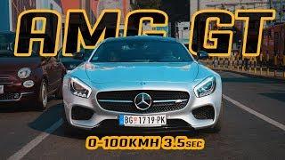 AMG HULIGAN SA PREKO 550KS ///TEST MERCEDES AMG GT