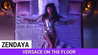 "Zendaya Stars in Bruno Mars' ""Versace On The Floor"" Video!"