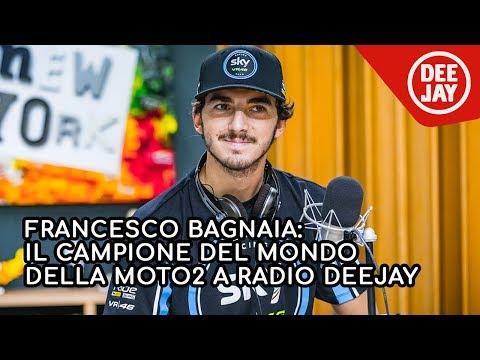 Francesco Bagnaia: l'intervista a Radio Deejay
