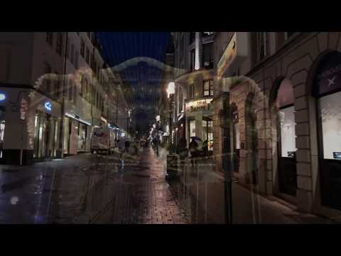 Luxembourg City at night 2017 , 4K video iPhoneX