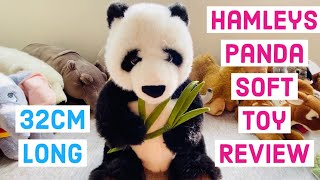 Hamleys Panda Soft Toy Review best real looking huggable Panda soft toy for your baby
