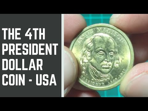 2007 James Madison Presidential Dollar Coin