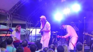 Friska Viljor - Shotgun Sister - live Dachauer Musiksommer 2014-06-07