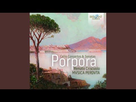 Concerto con violoncello obbligato e Violini in A Minor: III. Adagio