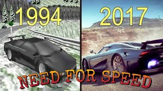 Evolution of Need For Speed 1994-2018 Latest [HD]/2018