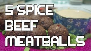Meatballs Recipe - Asian 5 Spice Beef  - Video
