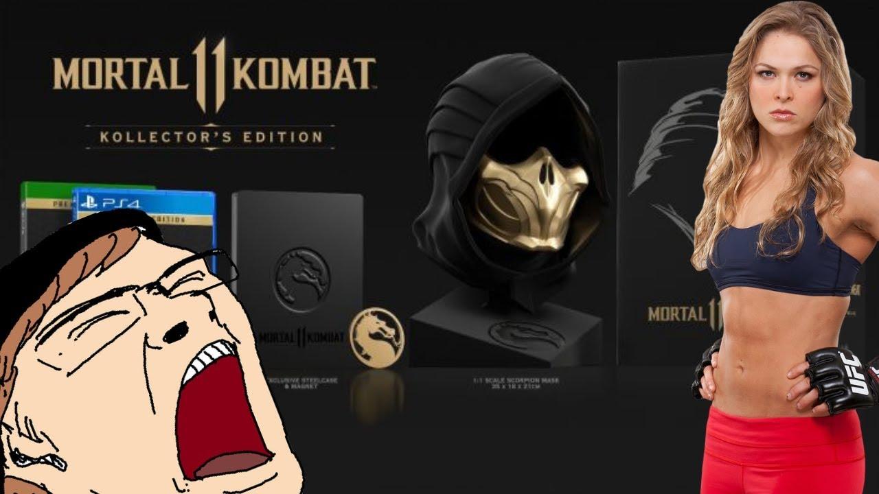 Download Mortal Kombat 11 Brings SJW Tears & INSANE $300 Collectors Edition