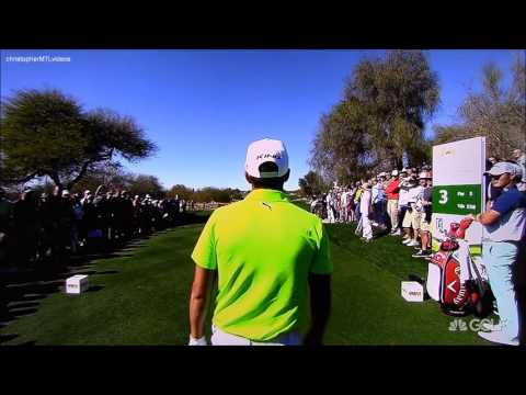 Golf ProTracer Compilation 2016 Waste Management Phoenix Open Rd 3 4
