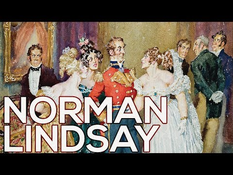 Norman Lindsay: A Collection Of 75 Paintings (HD)