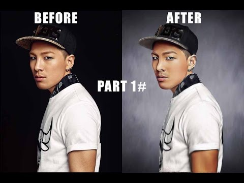 How To Learn Make Taeyang Photos Into Effect Smudge Oil Painting In Adobe Photoshop part #1