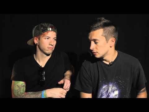 Twenty One Pilots interview at Lowlands with Tyler & Josh