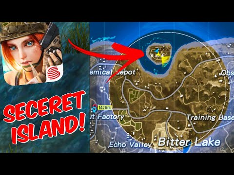 SECRET ISLAND?! Rules Of Survival Gameplay! How To Get On Spawn Island! Best Loot Area?!